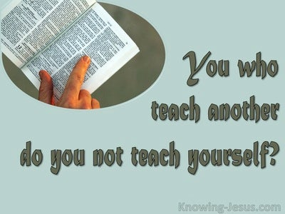 Romans 2:21