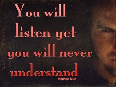 Matthew 13:14