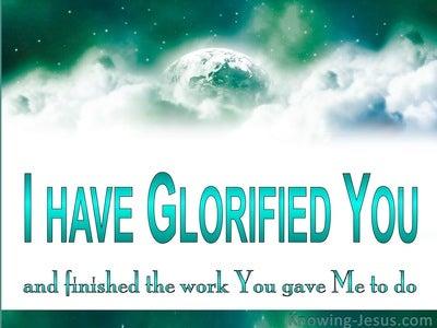 John 17:4
