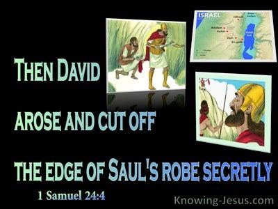 1 Samuel 24:4