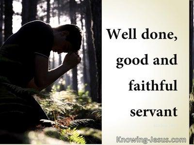 Matthew 25:23