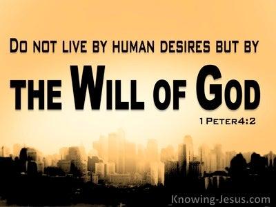 1 Peter 4:2