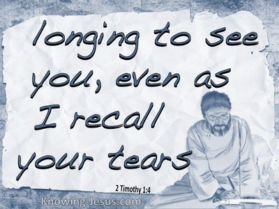 2 Timothy 1:4