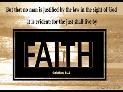 Galatians 3:11