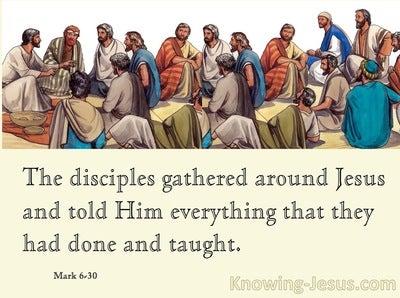 Mark 6:30