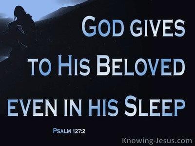 Psalm 127:2