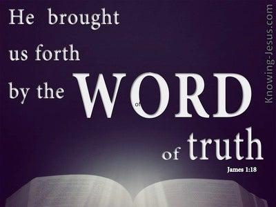 James 1:18