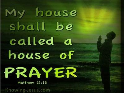 Matthew 21:13