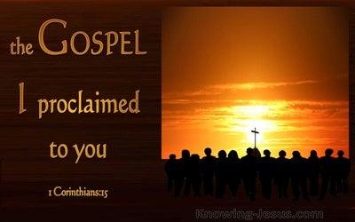 1 Corinthians 15:1