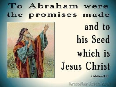 Galatians 3:16