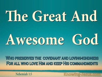 Nehemiah 1:5