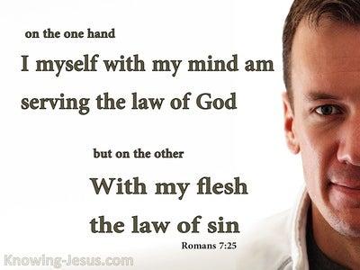 Romans 7:25