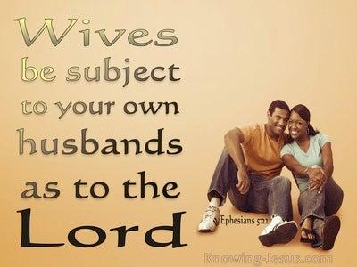 Ephesians 5:22