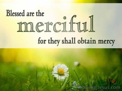 Matthew 5:7