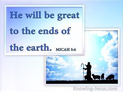 Micah 5:4