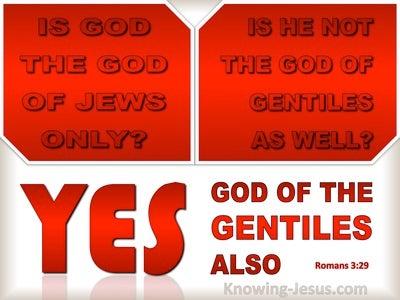 Romans 3:29