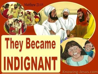 Matthew 21:15