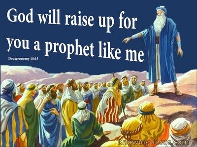 Deuteronomy 18:15