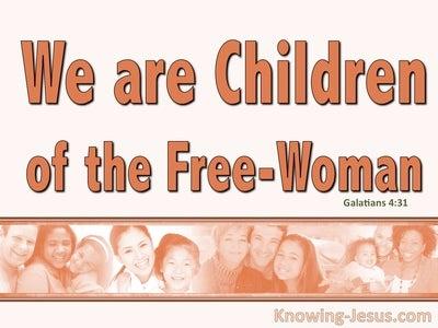 Galatians 4:31