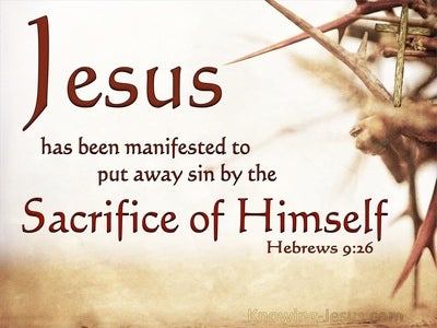 Hebrews 9:26