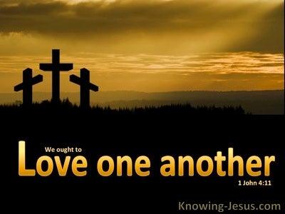 1 John 4:11