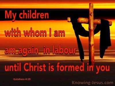 Galatians 4:19