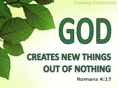 Romans 4:17