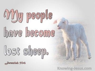 Jeremiah 50:6