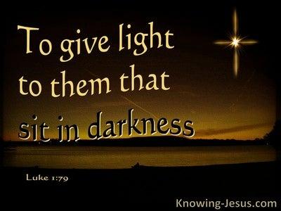 Luke 1:79