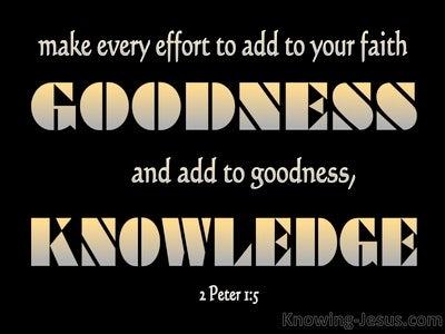 2 Peter 1:5
