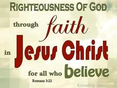 Romans 3:22