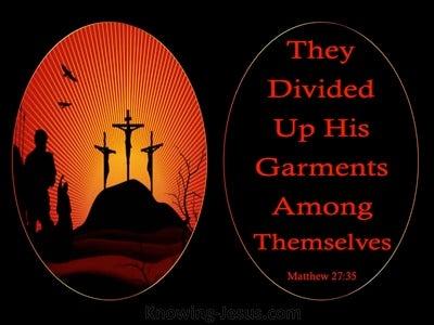 Matthew 27:35