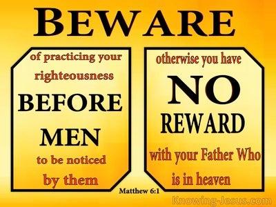 Matthew 6:1