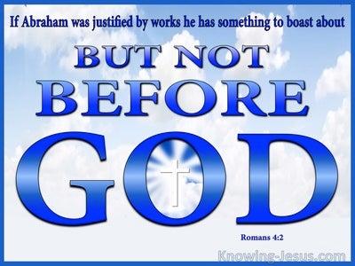 Romans 4:2