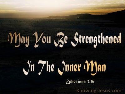 Ephesians 3:16