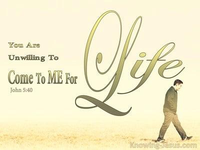John 5:40