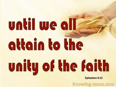 Ephesians 4:13