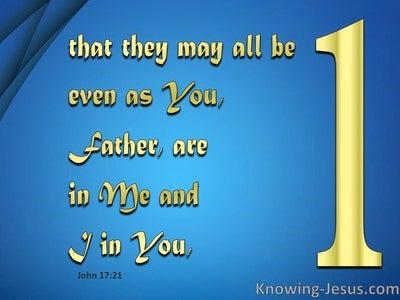 John 17:21
