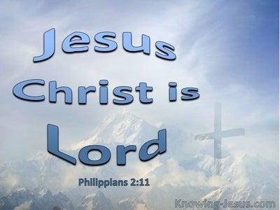 Philippians 2:11
