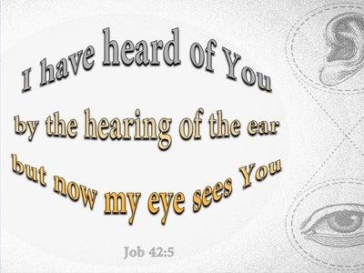 Job 42:5