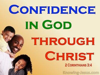 2 Corinthians 3:4