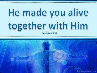 Colossians 2:13