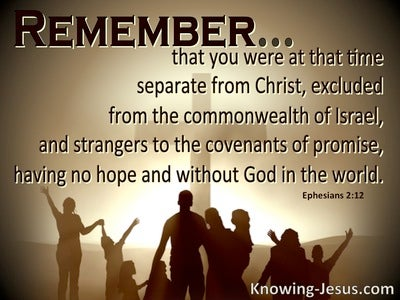 Ephesians 2:12