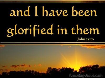John 17:10