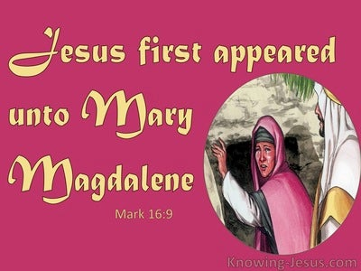 Mark 16:9
