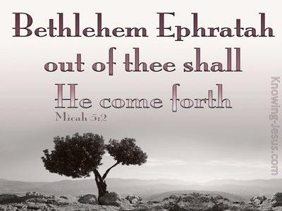 Micah 5:2
