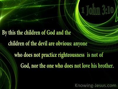 1 John 3:10