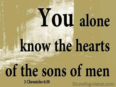2 Chronicles 6:30