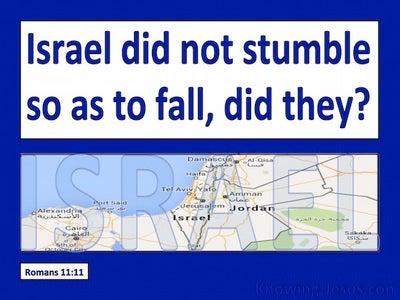 Romans 11:11