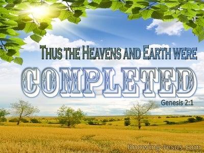 Genesis 2:1